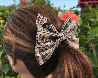 Legend of Zelda fabric hair bow