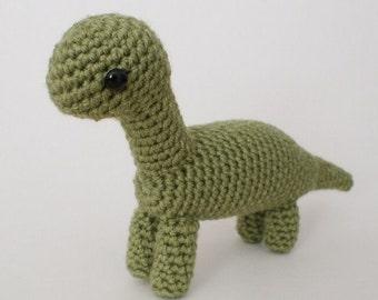PDF Brachiosaurus - amigurumi dinosaur CROCHET PATTERN