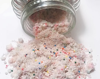 Birthday Bath Salts - Natural Bath Soak - Natural Bath Salts - Exfoliating Bath Soak - Hydrating Cleanser - Birthday Bath Soak
