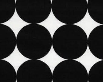 40% OFF SALE!  Disco Dot Ink Black - Michael Miller