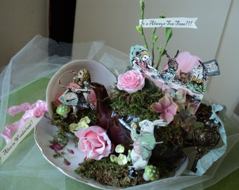 Alice in Wonderland Tea Party Centerpiece