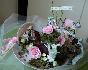 Alice in Wonderland Tea Party Centerpiece