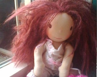 Mette, a waldorf inspired doll