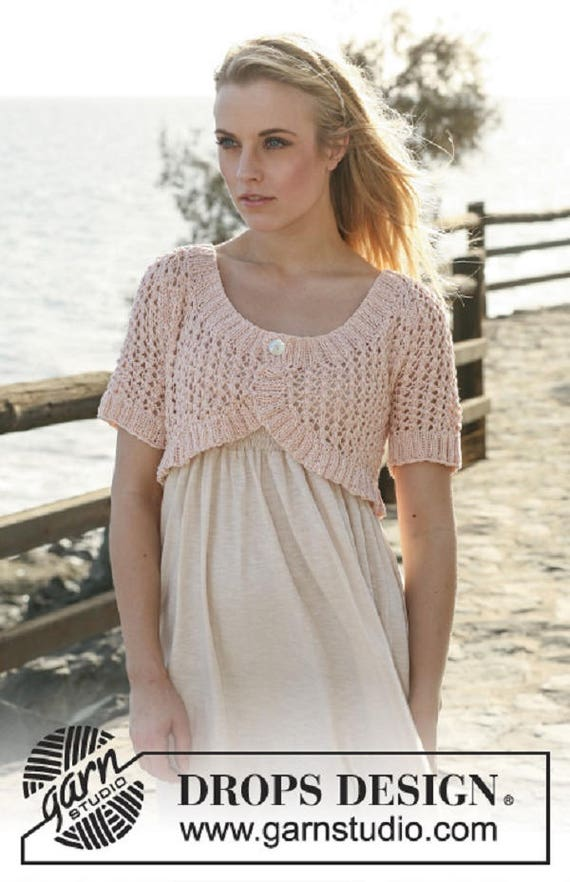 Wedding bolero bridal bolero Pink bolero peach bolero Summer