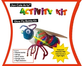 Upcyled Glow fly kit