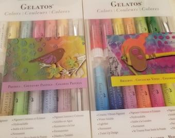 Gelatos - Pastels & Gelatos - Brights