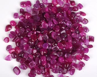 Natural Blood red ruby Gemstones Lot Mozambique 500 Carat 100% Natural Red Ruby Mix Shape Gemstone Lot 30-40 Pcs Best Deal July birthstone