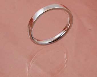 3mm Reverse D Section Ring