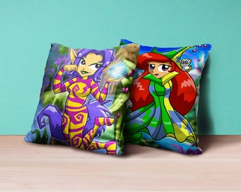 Fan made RM ly betilla fairy character cushion ver 1 (16x16) video game gamer
