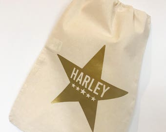 Personalised children's toy bag