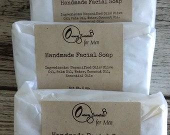 Facial Soap, 3oz., Handmade soap
