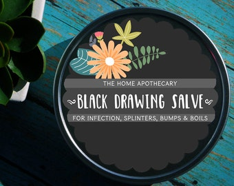 Black Drawing Salve /// <<<