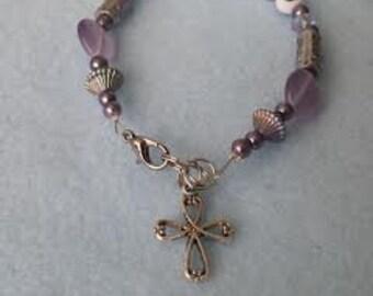 Blessed bracelet lavender