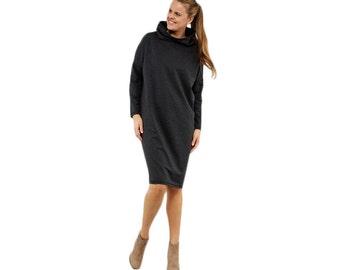 Long cotton dress KIMONO