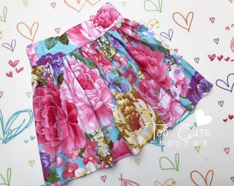 Floral Skirt .. 5 years
