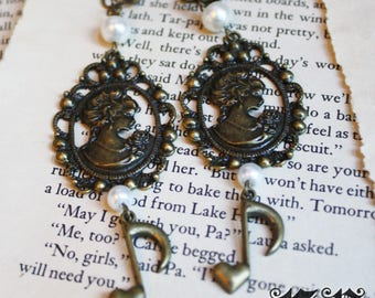 Madame of Music Clip-on Earrings