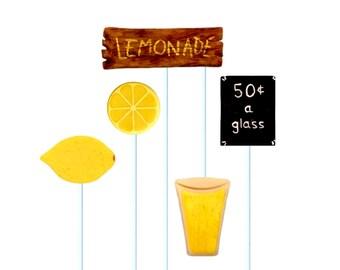 Lemonade Stand Marzipop™ Artisan Marzipan Lollipops: A Sweet Treat!