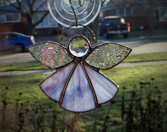 Purple/ Lavender Angel Suncatcher