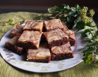 Rum and Mint Chocolate Brownies