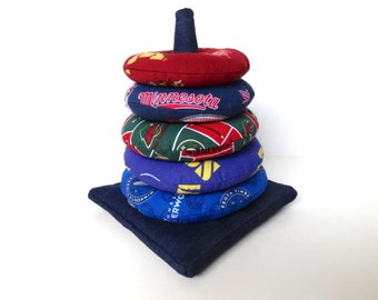 Ring Stacker Toy for Minnesota Sports Fans