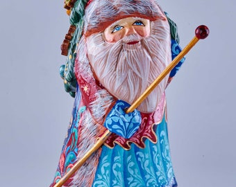 Wooden Father Christmas