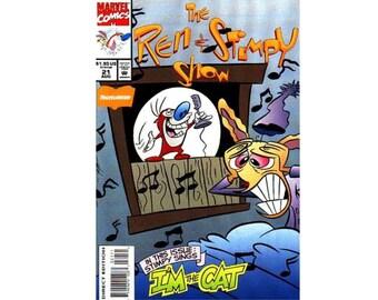 Ren & Stimpy No. 21 Nickelodeon Comic Book Vintage 1993 NM