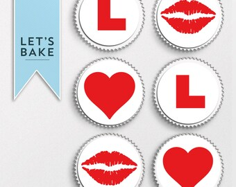 Hen party, cupcake toppers, cake toppers, edible, hen do, bride to be, wedding, hen party cake, hen party cupcake