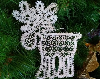 gift lace  for home, bobbin lace, handmade, gift for home, christmas gift,gift for women, home decor