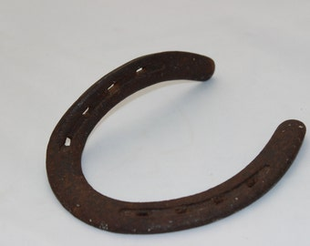 Vintage Horseshoe Coat Hook Good Luck Charm St Patricks Day Gift