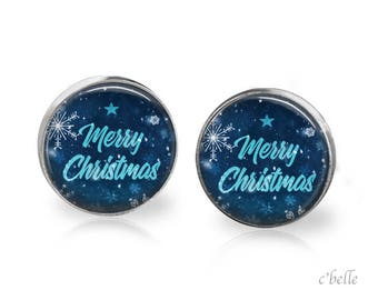 Christmas Earrings Winter-35