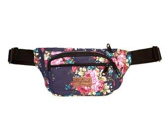Grandma's Couch Denim Fanny Pack Bum Bag