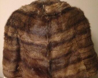 Gorgeous Faux Fur Stole
