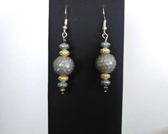 Dangle earrings glittery earrings gift for her