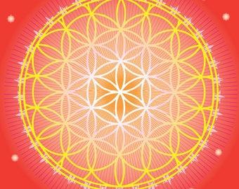 Crystal grid - K