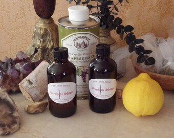 Pure Organic Lemon Extract