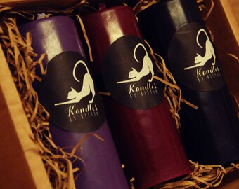 Vamp ~ 3 colour goth inspired wax play set