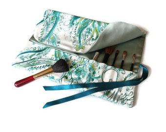 Make up Brush Roll, make up brush holder, travel roll, make up brush case