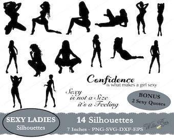 Sexy Lady SVG Clip Art, Female Dancers, Exotic Dancers, Sexy ladies, Stripper SVG, Naked Ladies, Sexy Images, SVG Cut File, Instant Download