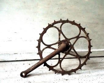 Sweetheart bike sprocket – Vintage skiptooth Schwinn Hornet, Panther, Phantom-Vintage Shed, old bike parts salvage & Art supply //0700