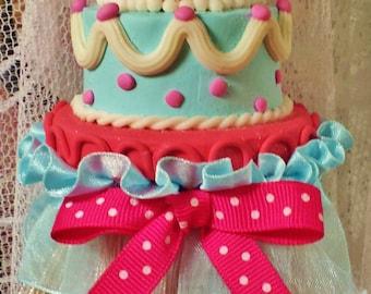 What a Delight! Decorative Tassel Cheerful Birthday Bridesmaid Girls Room Bakery Cake Decorator Anniversary Wedding Valentine's Day Keepsake