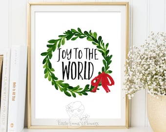 Browse More Items From Etsy. Christmas Print Holiday Art Decor Christmas  Wall ...