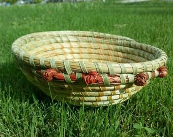 Gullah Sweetgrass Bowl Basket