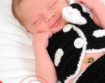 3 Piece Set Newborn Tuxedo Vest and Diaper Cover Set INVENTORY SALE Newborn Photography