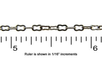 Small Peanut Chain - CH20 - Choose Your Length & Finish