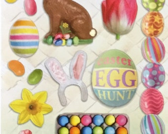 Easter/Stickers/eggs/Chicks/Chocolate/Rabbits/Scrapbooking/Card Making/Craft/Off Page Projects/Children/Celebration/Stationery