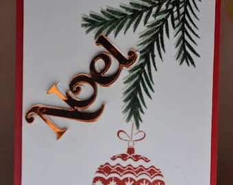 Card Christmas greetings, Merry Christmas