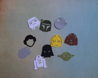 Star Wars Party Table Confetti