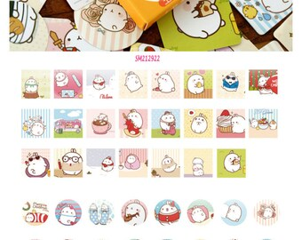 Molang Stickers Pack SM212922 46pcs