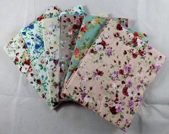 6 PK Florals Fat Quarters Bundle - The Craft Cotton Co. - E