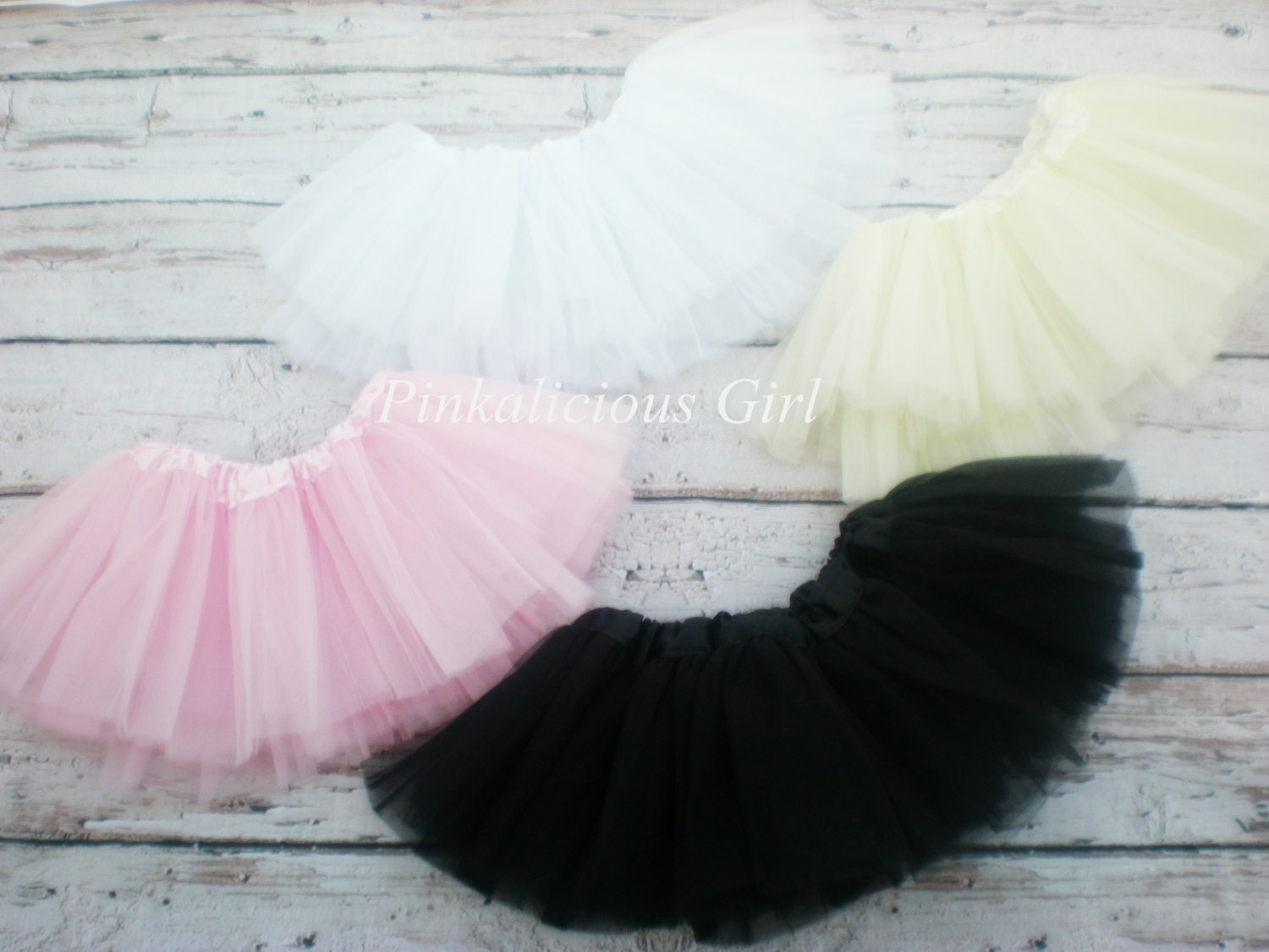 Description. Simple & Classic Colored Baby Girl Tutu!